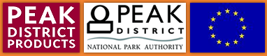 Supported by Peak District Products, Peak Distric National Park & The EU